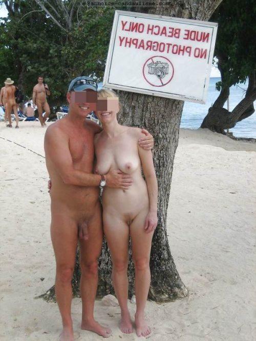Couple naturiste et candauliste du Nord cherche beau mec pour elle